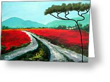 Tuscan Bliss Greeting Card