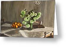 Tuscan Kitchen Greeting Card