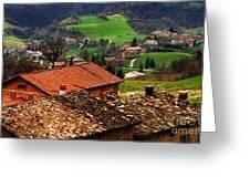Tuscany Landscape 2 Greeting Card
