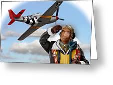 Tuskegee Airman Greeting Card