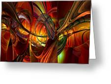 Twilight Abstract Fx  Greeting Card