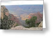 Twilight At Grand Canyon Greeting Card