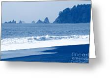 Twilight Blue Greeting Card