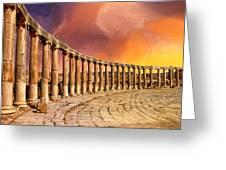 Twilight Of The Gods Greeting Card