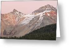 Twilight San Juan Mountains Greeting Card