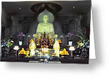 Twisted Buddha Greeting Card