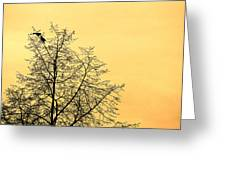 Two Birds In A Tree Greeting Card