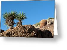 Two Bunch Gold Butte Greeting Card