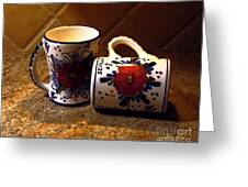 Two Cups Greeting Card