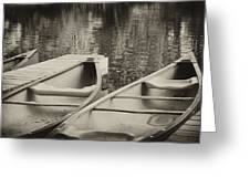 Two For The Lake Greeting Card