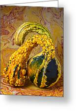 Two Gourds Greeting Card