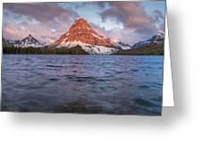Two Medicine Lake Panorama Greeting Card