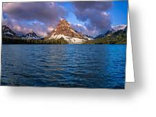 Two Medicine Morning Panorama Greeting Card