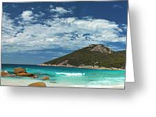 Two Peoples Bay Panorama Greeting Card
