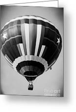 Two Star Balloon Greeting Card