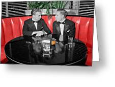 Two Tuxedos Greeting Card