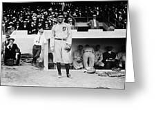Ty Cobb Greeting Card