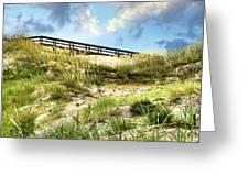 Tybee Island Dunes No.2 Greeting Card