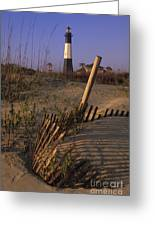 Tybee Island Lighthouse - Fs000812 Greeting Card
