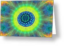 Tye Dye Eyeball Greeting Card