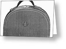 Typewriter Case, 1889 Greeting Card