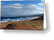 Typical Australian Beach Greeting Card