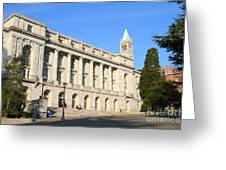 Uc Berkeley . Sather Tower Campanile . Wheeler Hall . South Hall Built 1873 . 7d10043 Greeting Card