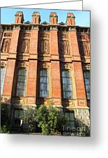 Uc Berkeley . South Hall . Oldest Building At Uc Berkeley . Built 1873 . 7d10111 Greeting Card