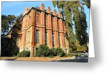 Uc Berkeley . South Hall . Oldest Building At Uc Berkeley . Built 1873 . 7d10113 Greeting Card