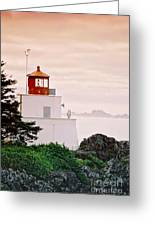 Ucluelet Lighthouse Greeting Card