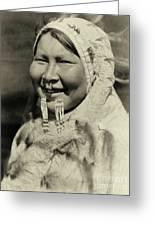 Ugiyaku Of The Nunivak Greeting Card