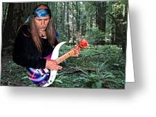Uli Jon Roth At Muir Woods Greeting Card