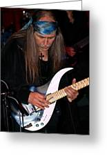 Uli Jon Roth At The Grail 2008 Greeting Card