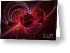 Ultraviolet Greeting Card