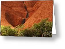 Uluru Australia 4 Greeting Card