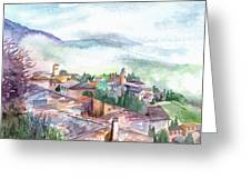 Umbrian Paradise Greeting Card