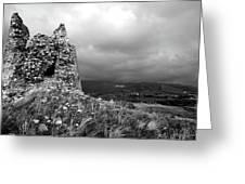 Un Torre Di Calabria Greeting Card