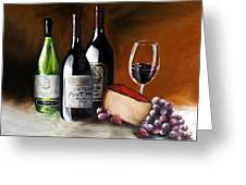 Uncorked Greeting Card