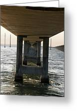 Under Seven Mile Bridge Greeting Card