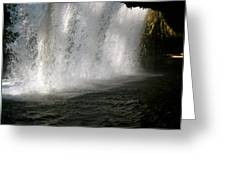 Under The Falls 3 Greeting Card