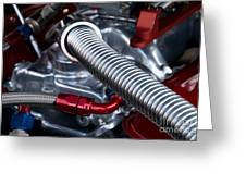 Under The Hood Greeting Card