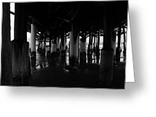 Under The Old Boardwalk Greeting Card