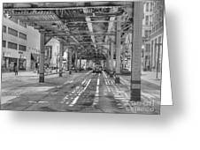 Under Wabash Avenue Greeting Card