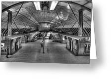 Underground 09 Greeting Card