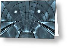Underground 10 Greeting Card
