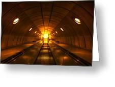 Underground 11 Greeting Card
