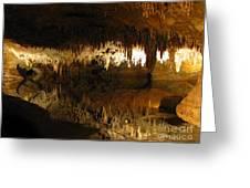 Underground Lake 02. Luray Caverns Va Greeting Card