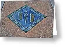 Underground Rr Buffalo Ny Landscaped Greeting Card