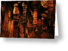 Underground Splendor Greeting Card