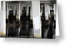 Underpass The Reflections  Greeting Card